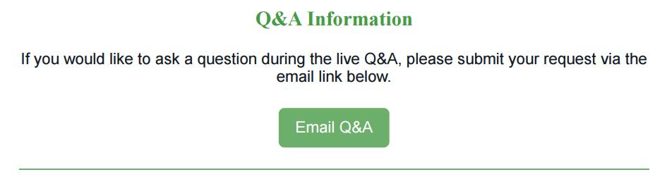 QA Information